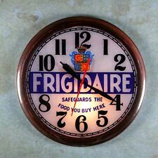 "Vintage Style Advertising Clock Fridge Magnet 2 1/4"" Frigidaire Refrigerator"