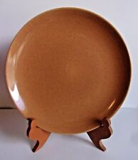 IROQUOIS CASUAL CHINA - RUSSEL WRIGHT Nutmeg Brown - DINNER PLATE - USA