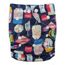 Modern Cloth Nappies Cloth Nappy Cloth Diaper Pilchers 3 Hours Absorbency (D36)