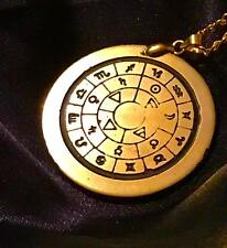 TALISMAN OF CREATION CONSECRATED SOLID BRASS Occult Magic Amulet Magick