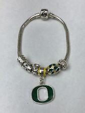 Oregon Ducks Bracelet with Charismatic Charms