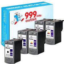 PG-40 y CL-41 Remanufacturado Tinta Canon Pixma iP1700 iP1900 iP2500 - 5 Paquete