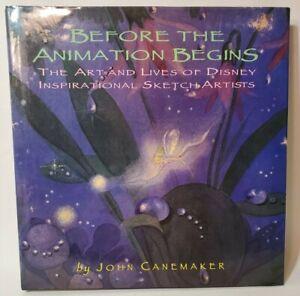 Disney BEFORE THE ANIMATION BEGINS-ART & LIVES DISNEY ARTISTS