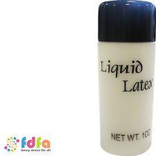 BOTTLE OF LIQUID LATEX - 1oz bottle - zombie flesh halloween fancy dress make up