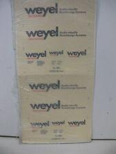 1/87 Müller decals Weyel International audio-visivi istituzione-System 568