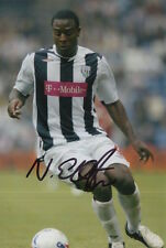 WEST BROM HAND SIGNED NATHAN ELLINGTON 6X4 PHOTO.