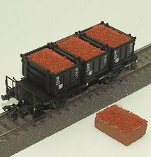 042 H0 Ladegut für Märklin Behältertragwagen Bt 10 48949, 48943, 48946, Erz, OVP