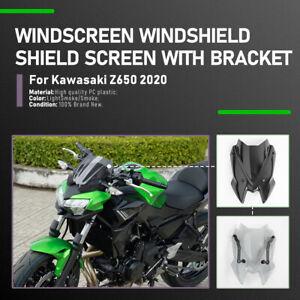 Windschutzscheibe Wind Schild Schutz für Kawasaki Z650 2020-2021