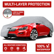 5-Layer Outdoor Car Cover for Ford Mustang 1965-2004 Dust Rain Snow WaterProof