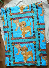 Disney's The Lion King 1994 Vintage Comforter Blanket - Twin Bed Size Simba