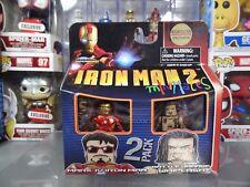 Marvel Minimates Borders Exclusive Iron Man 2 Movie Mark IV Iron Man / Whiplash