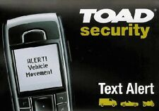 NEW TOAD TEXT ALERT TRACKING MODULE MOTORCYCLE ALARMS