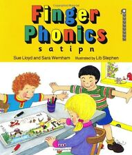Finger Phonics: Book 1: In Precursive Letters (BE): S, A, T, I, P, N (Jolly Ph,