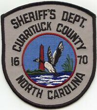 CURRITUCK COUNTY NORTH CAROLINA NC Gray DUCK LIGHTHOUSE SHERIFF POLICE PATCH
