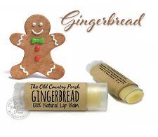 Gingerbread Natural Lip Balm