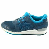 Asics Mens Gel Lyte III Running Shoes Blue H638Y Lace Up Low Top Sneakers 10.5 M