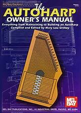THE AUTOHARP OWNER'S MANUEL MAINTAINING & BUILDING BOOK NEW