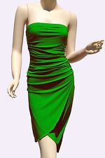 Green Strapless Dresses Party Cocktail Womens Style Clubwear Mini Dress S M L