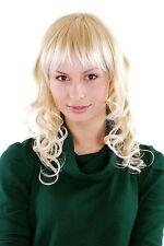 Perücke, Wig hellblond Pony Locken 3241-24BH613 40 cm