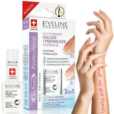 NIB Eveline Nail Therapy Instantly Whiter 3in1 12 ml/ 0.42FL.OZ.