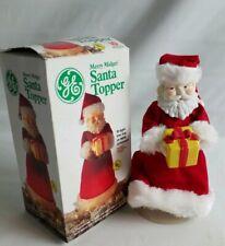 Vintage GE Merry Midget Santa Topper