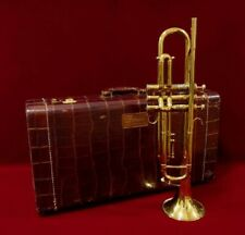 VINTAGE 1940-50s Old French Besson Burbute model] Original case included