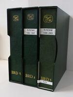 BUND, 1955-2000, postfrische Kabinettsammlung mit Oberrändern und Bogenecken