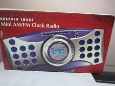 Sharper Image Mimi Digital Am/fm Clock Radio Alarm Gm107 # 9821