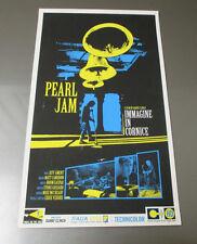 2006 PEARL JAM Immagine In Cornice Silkscreen POSTER VF- 9x15 Italian Film Promo