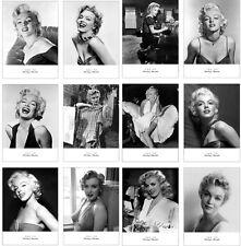 Lots 12 pcs Marilyn Monroe Postcard Classic Black & White Photos Post Cards Bulk