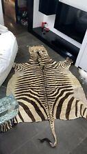 Tappeto pelle zebra vintage