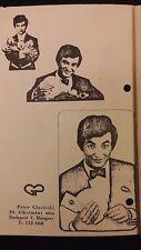 Vintage 1st American Tour PETER GLOVICSKI Lecture Notes Hungary 1971