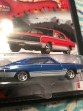 1967 Dodge Charger Blue HOT WHEELS - LARRY WOOD / HOLIDAY RODS - (1967)
