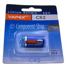 3V Vapextech LITIO CÁMARA batería CR2 - Vendedor GB