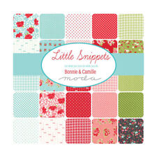 "Moda Layer Cake - Little Snippets by Bonnie & Camille - 42 fabrics 10"" x 10"""