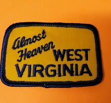 ALMOST HEAVEN WEST VIRGINIA PATCH