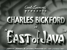 EAST OF JAVA 1935 Charles Bickford, Elizabeth Young