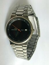 Vintage Rare Original Junghans Solar 1 Quartz Men`s Wristwatch Germany