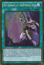 The Terminus of the Burning Abyss Gold Rare Yugioh Card PGL3-EN088