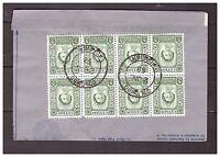 s16110) CEYLON Air Letter QEII Coronation Colombo London