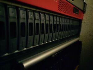 NetApp DS2246 Rack Mountable SAN Disk Array 24 bay, 24 caddies, 2.5in drive bays