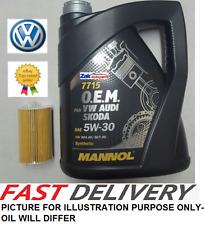 VW Passat B7 | 11-14 | 2.0 TDI & FILTRO OLIO 5W30 MOTORE OLIO 5 LITRI * NUOVO *