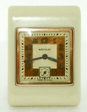 Westclox Pickwick Travel Clock ca. 1935-1938