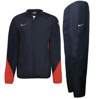 Nike Boys Football Tracksuit Polyester Track Top Pants Navy 491580 451 A162B
