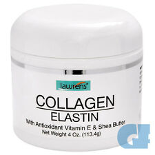 COLLAGEN CREAM ELASTIN ANTIOXIDANT VITAMIN E 4 Oz NON GREASY, DOES NOT STAIN