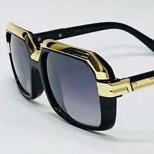 Gafas de Dol Lentes de Moda Hombre Gold Metal Bar Aviator NEW Style Sunglasses