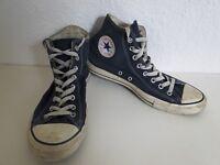 Converse All Star Chucks Sneaker Turnschuhe High Taylor Stoff Blau Gr. 9 / 32,5