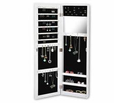 Levede Mirror Jewellery Cabinet Makeup Storage Jewelry Organiser Box - Tall