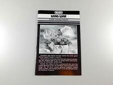 1983 Intellivision WING WAR by Imagic Manual