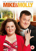 Mike and Molly: The Complete Second Season DVD (2013) cert 15 3 discs ***NEW***